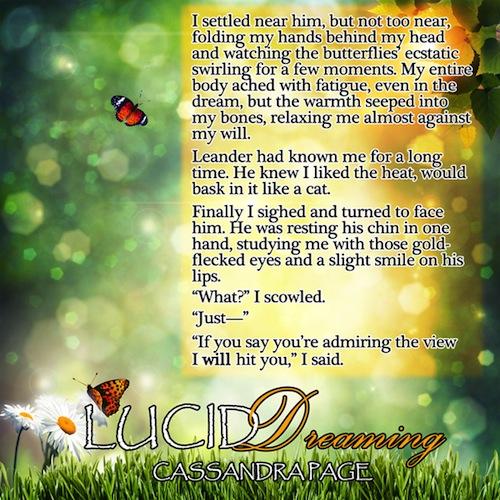 Lucid Dreaming butterflies teaser